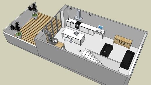 zelf je huis bouwen maak een 3d model van je eigen ontwerp in sketchup