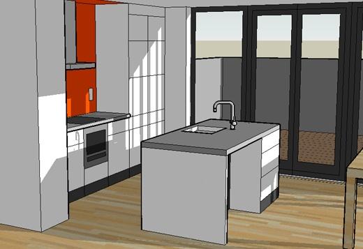 Zelf je huis bouwen ontwerpen van gevel en maken maquette for Tekening badkamer maken
