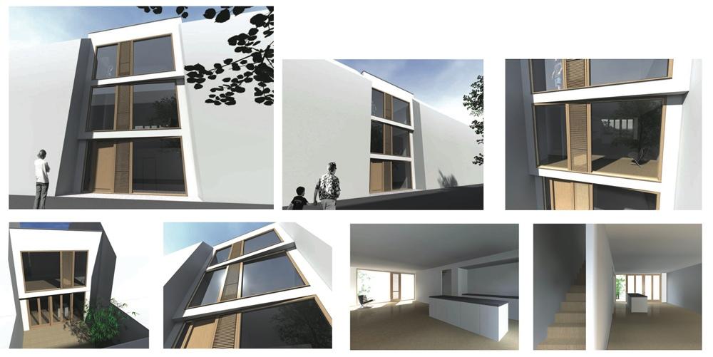 Zelf je huis bouwen ontwerpen van gevel en maken maquette for Zelf woning ontwerpen